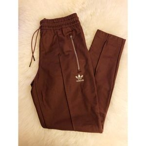 Adidas Training Pants with Zippers